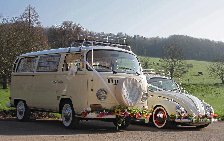 3d594b08ee Bus and Bug Vintage Weddings - Campervan   Beetle Wedding Cars