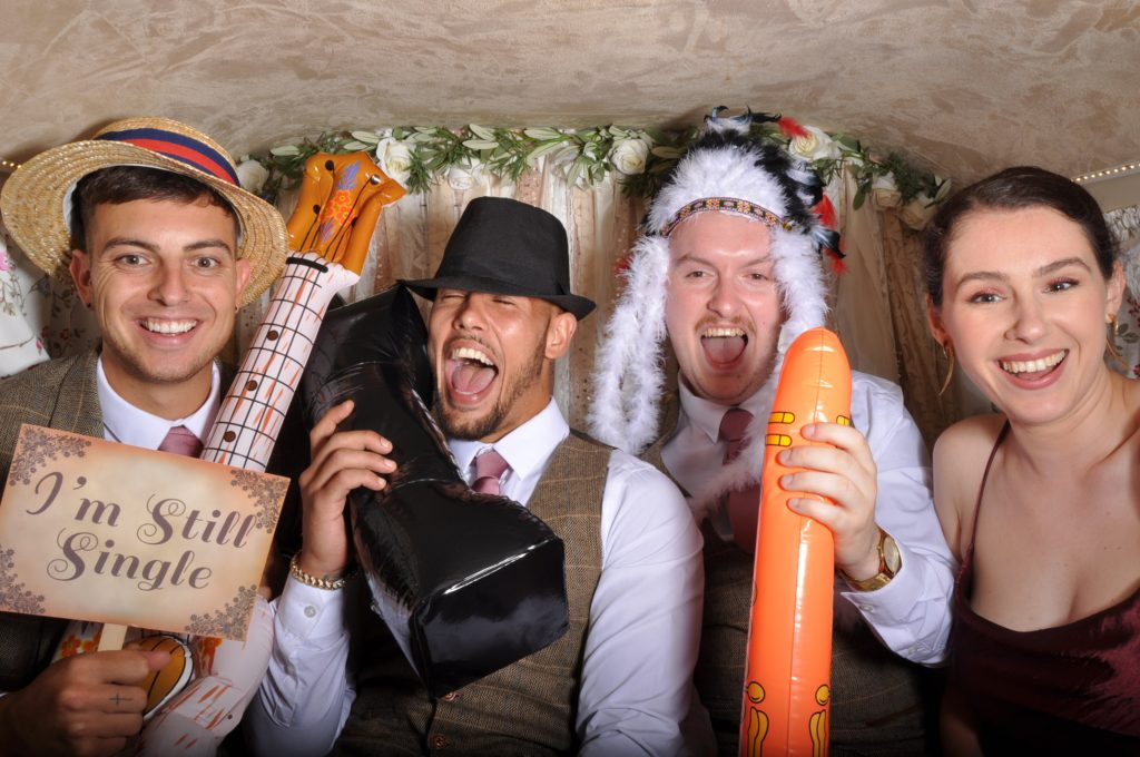 Photobooth packages. The Retro, The Classic and The Vintage