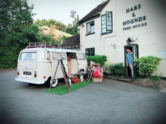 Rupert Photobooth at Hare and Hounds Cowfold