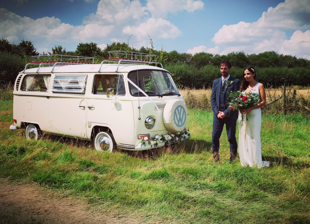 Camoervan Wedding Car