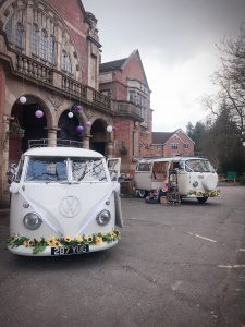 Camper Van Wedding cars