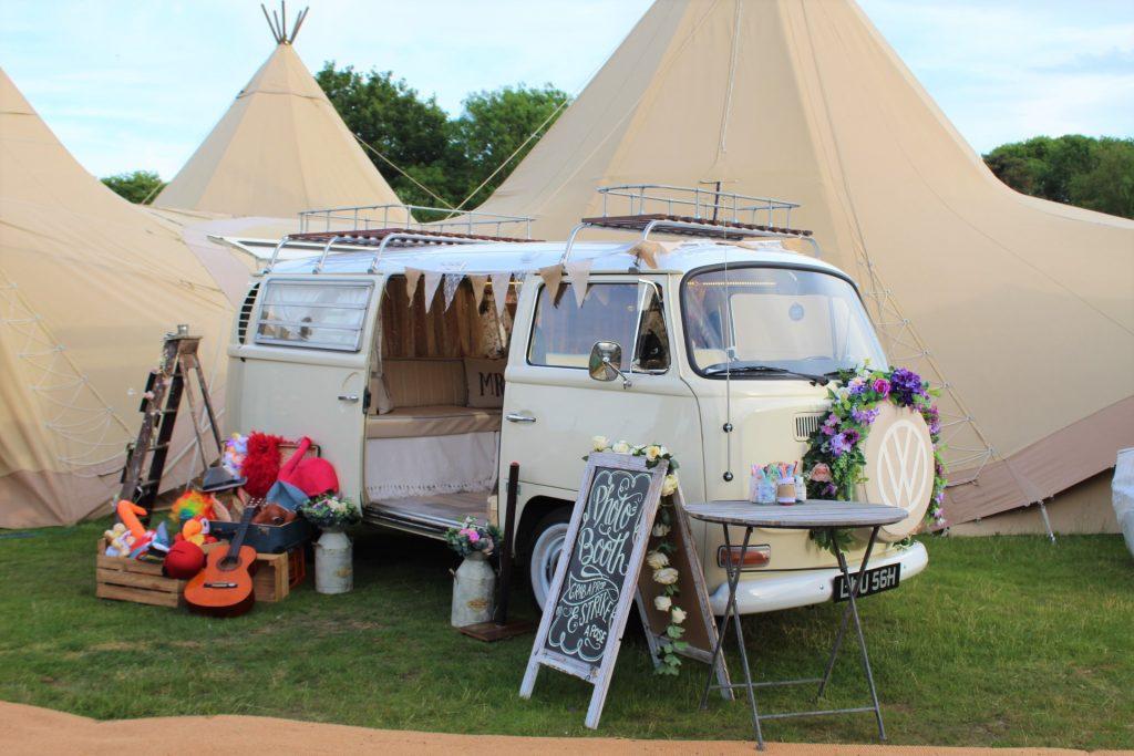 Camper Van Photobooth - Country Tipis Weddings