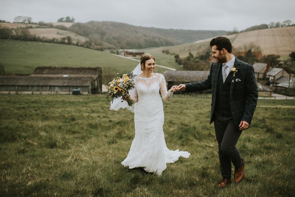 wedding camper at Upwaltham Barns